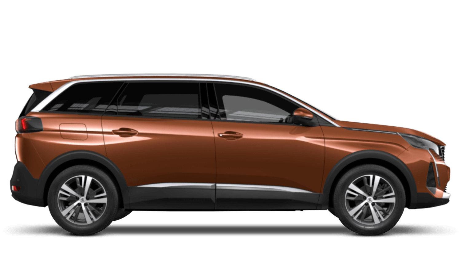 Sunset Copper New Peugeot 5008 SUV