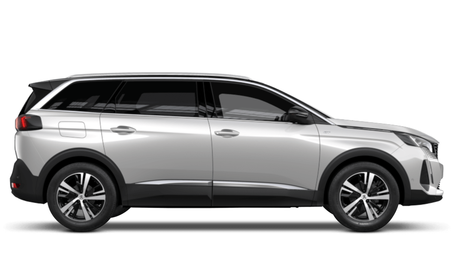 Pearlescent White New Peugeot 5008 SUV