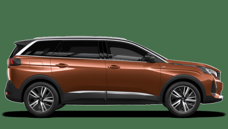 Sunset Copper New Peugeot 5008