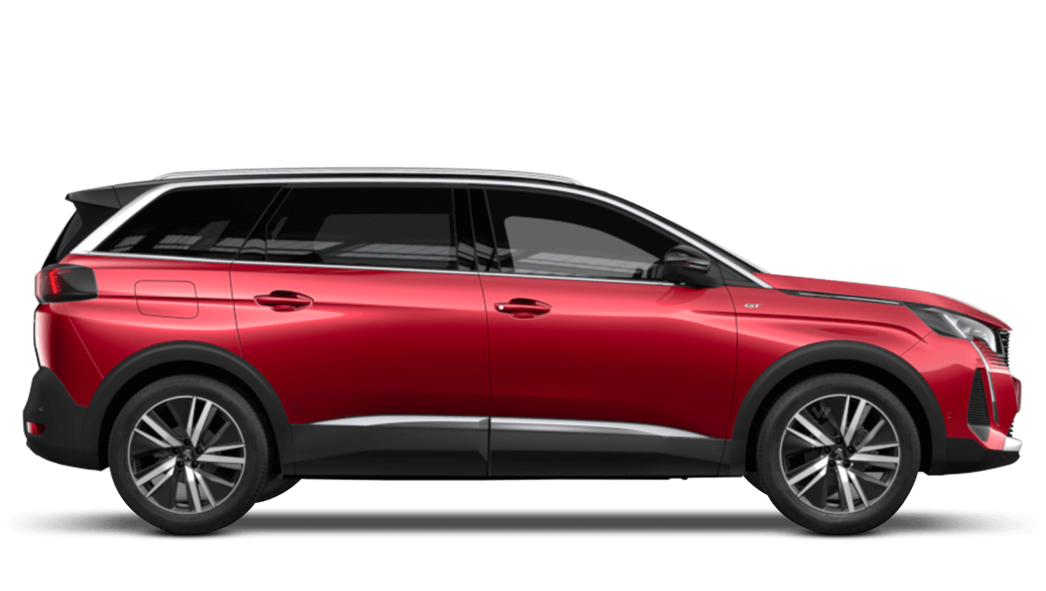 Ultimate Red New Peugeot 5008 SUV