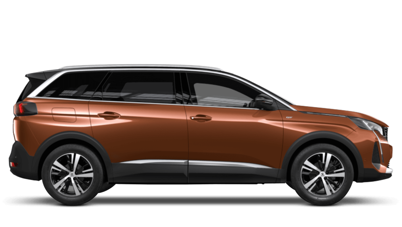 Sunset Copper New Peugeot 5008 SUV