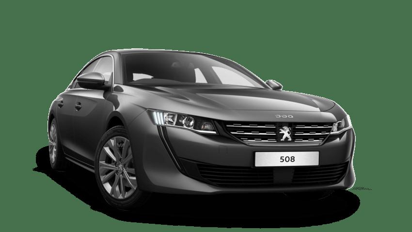 Nimbus Grey Peugeot 508 Fastback
