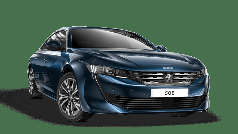 Celebes Blue Peugeot 508 Fastback