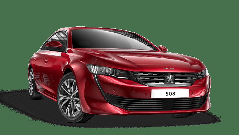 Elixir Red Peugeot 508 Fastback