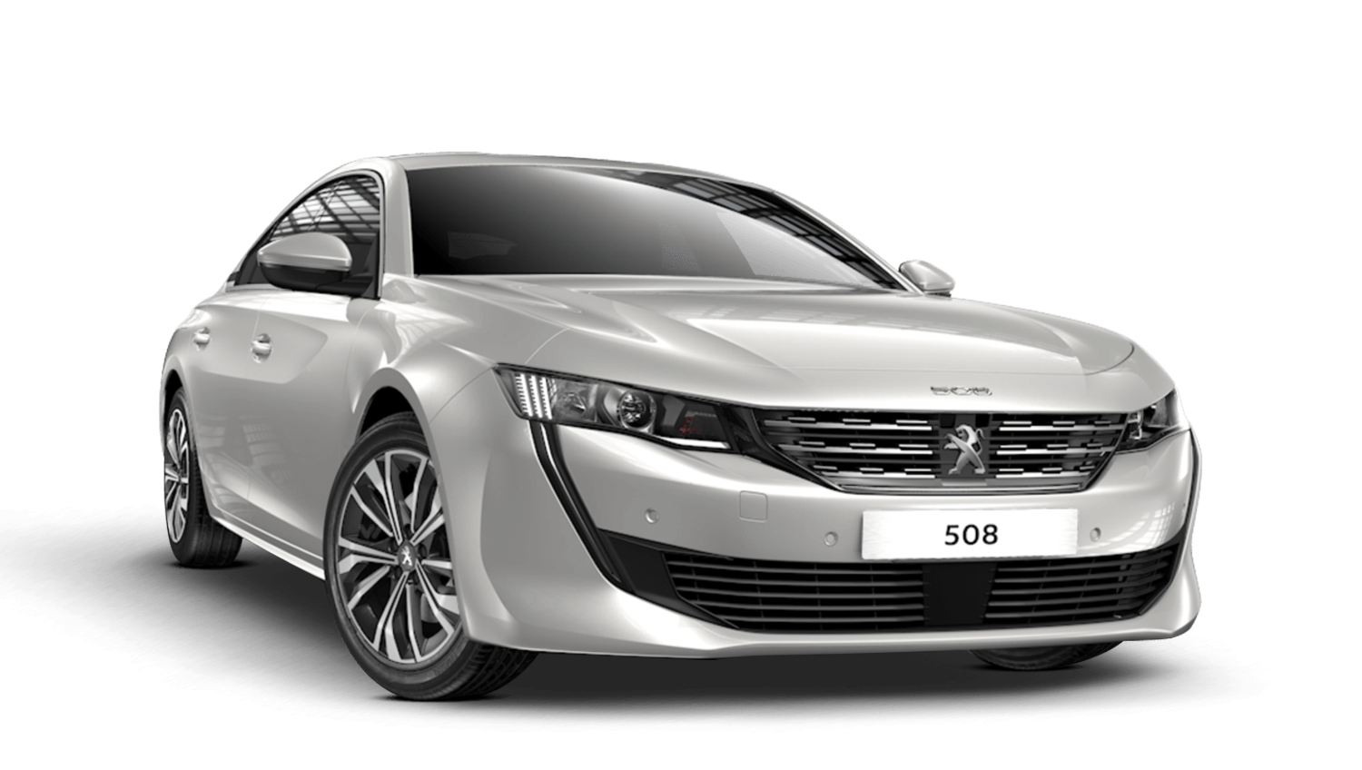 Pearlescent White Peugeot 508 Fastback