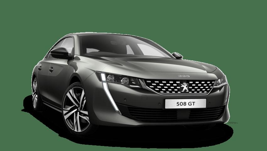 Amazonite Grey Peugeot 508 Fastback