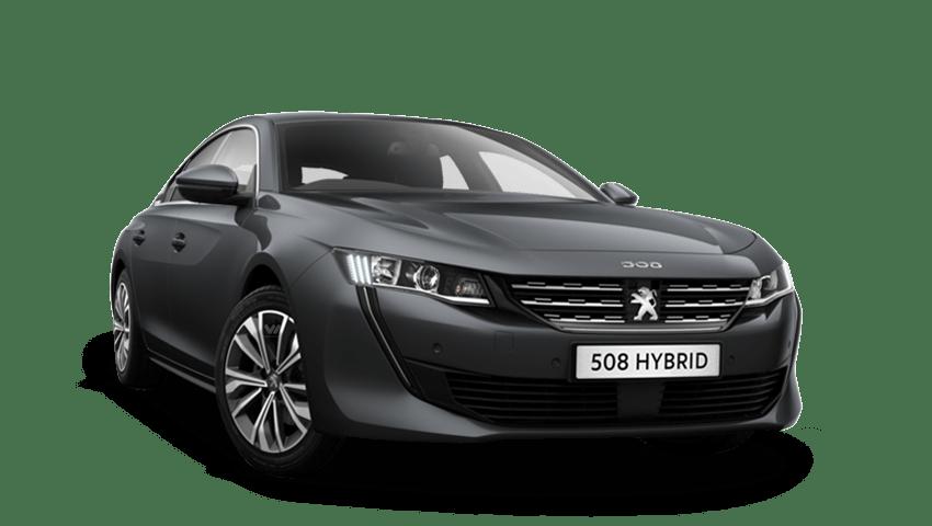 Hurricane Grey Peugeot 508 Hybrid