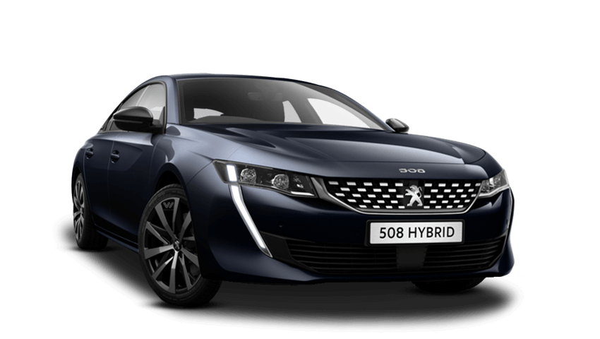Twilight Blue Peugeot 508 Hybrid
