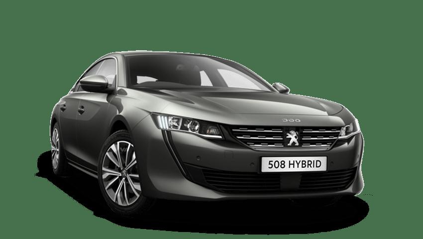 Amazonite Grey Peugeot 508 Hybrid