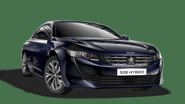 Twilight Blue Peugeot 508 Hybrid