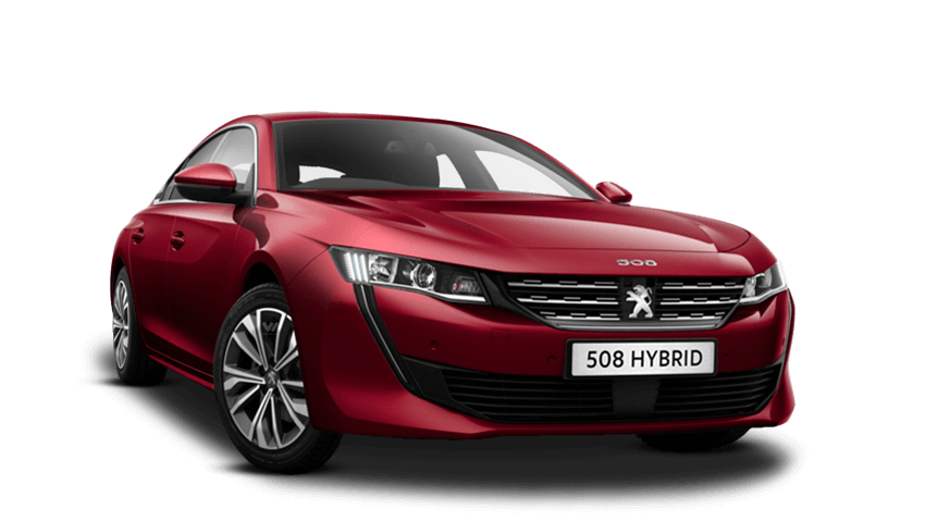 Ultimate Red Peugeot 508 Hybrid