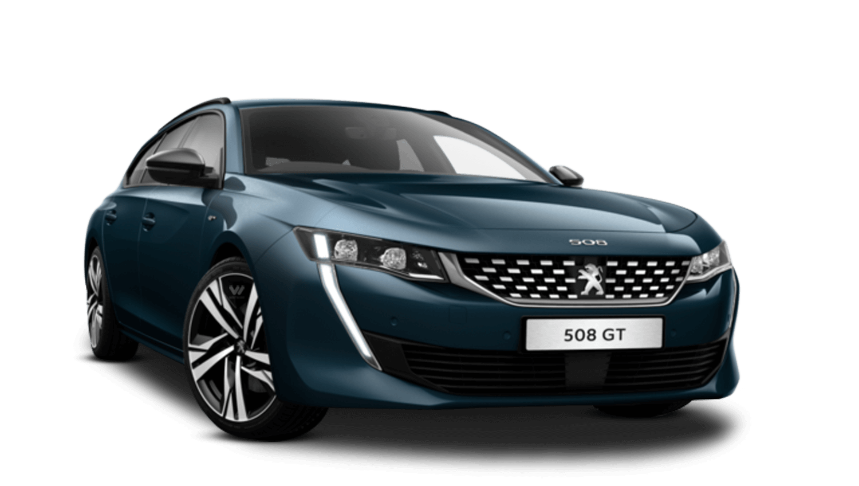 Celebes Blue All-New Peugeot 508 SW