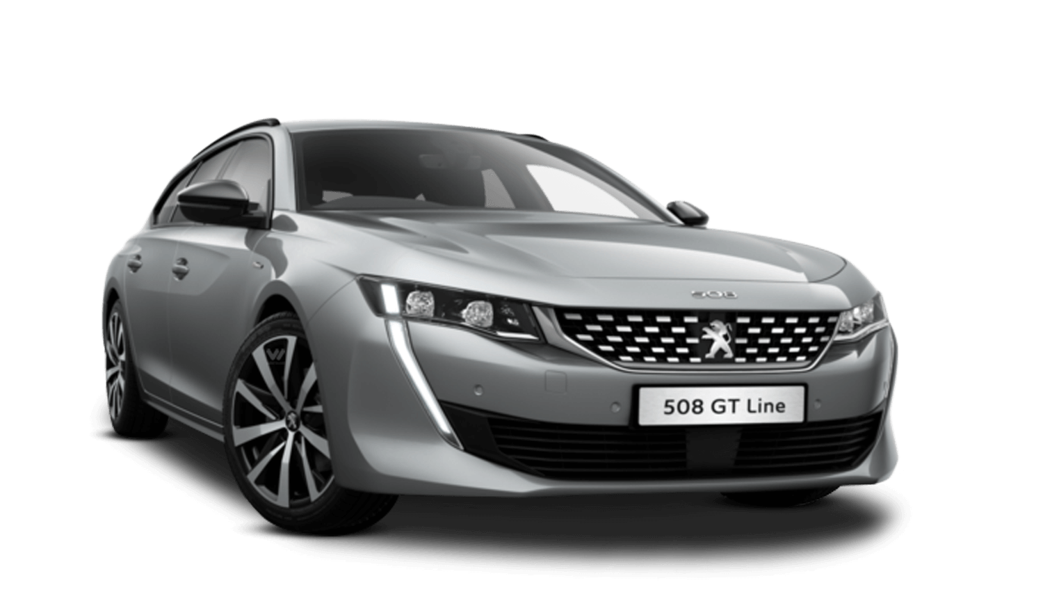 Cumulus Grey All-New Peugeot 508 SW