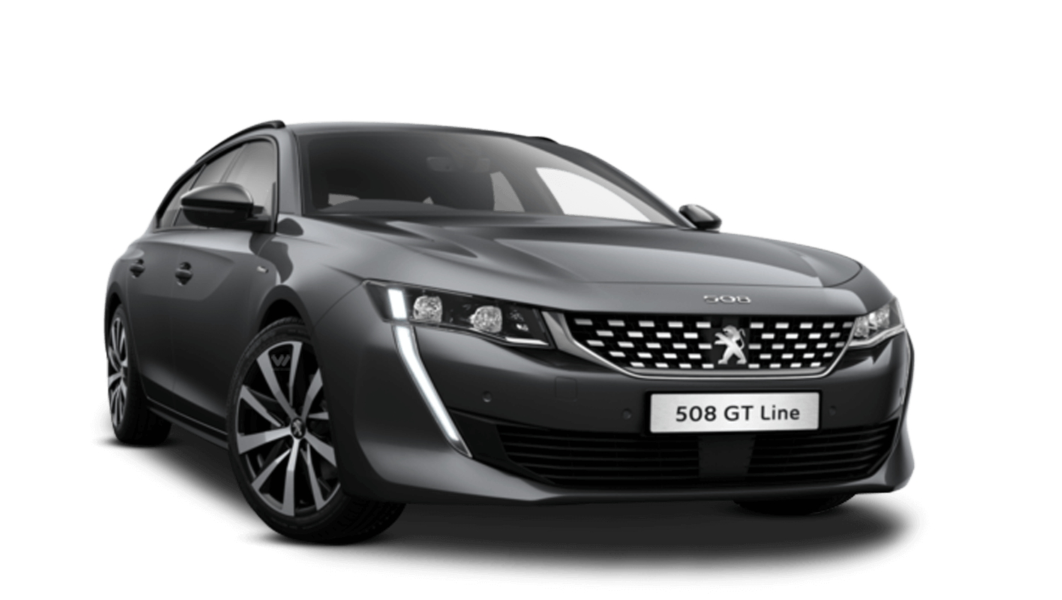 Hurricane Grey All-New Peugeot 508 SW