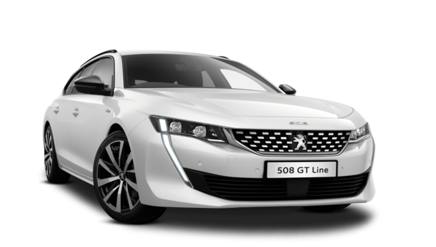 Pearlescent White All-New Peugeot 508 SW