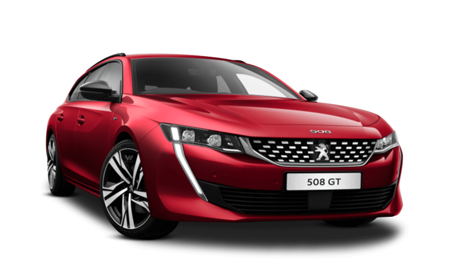 Ultimate Red All-New Peugeot 508 SW