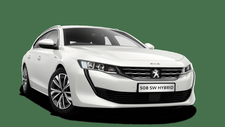 Bianca White Peugeot 508 Sw Hybrid