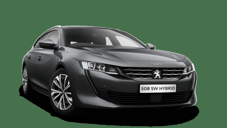 Hurricane Grey Peugeot 508 Sw Hybrid