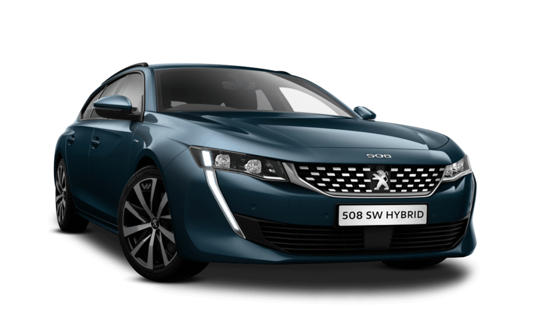 Celebes Blue Peugeot 508 Sw Hybrid