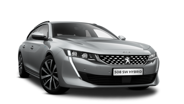 Cumulus Grey Peugeot 508 Sw Hybrid