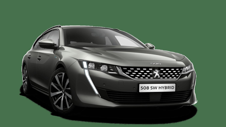 Amazonite Grey Peugeot 508 Sw Hybrid