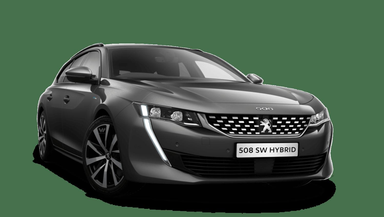 Nimbus Grey Peugeot 508 Sw Hybrid
