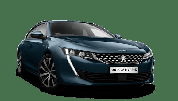 Peugeot All-New 508 SW Hybrid