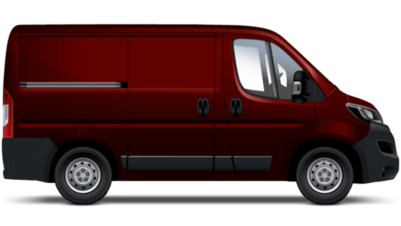 Ruby Red Peugeot Boxer