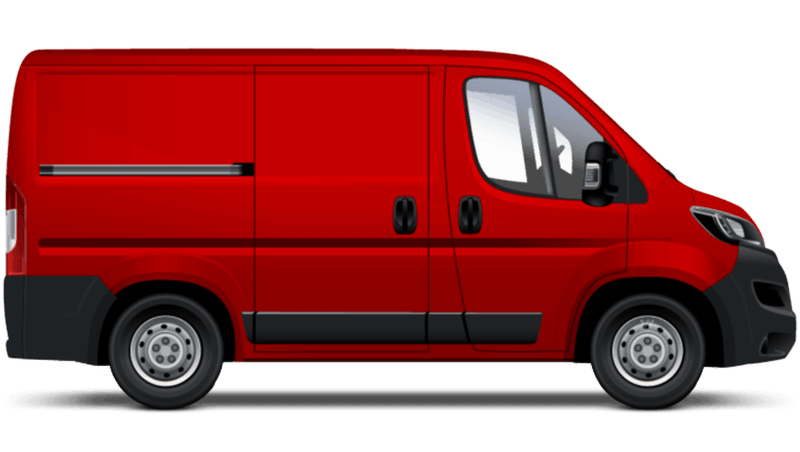 Volcano Red Peugeot Boxer