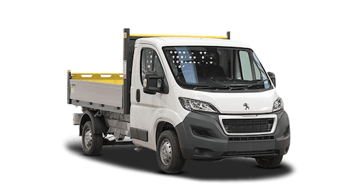 peugeot Boxer Tipper Offer