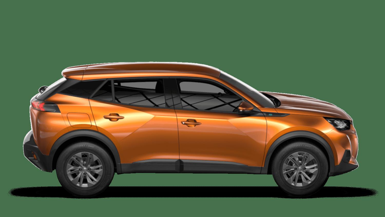 Orange Fusion Peugeot e-2008