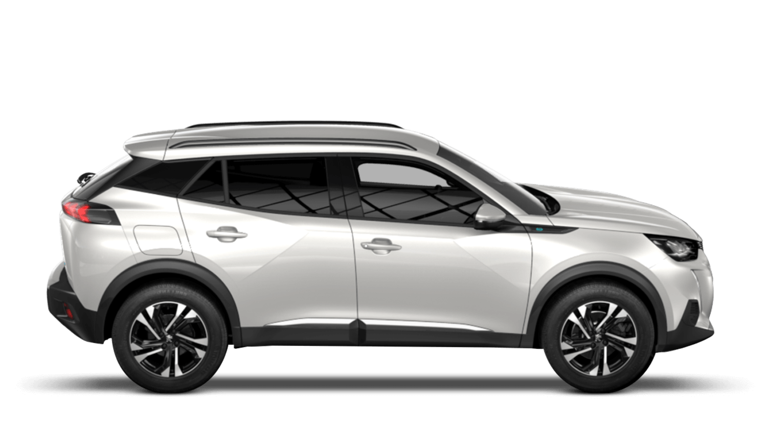 Pearlescent White All-new Peugeot e-2008 SUV