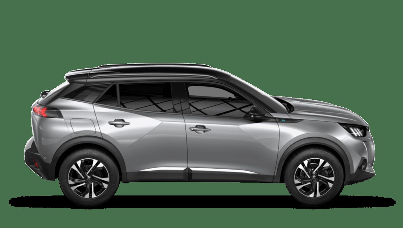 Cumulus Grey All-new Peugeot e-2008 SUV