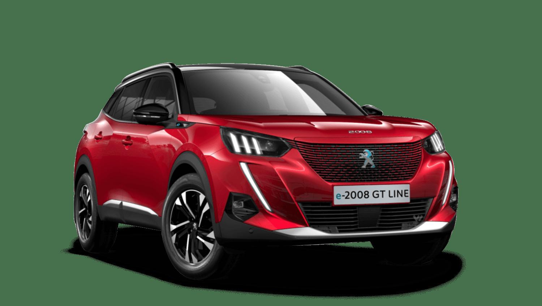 Elixir Red All-new Peugeot e-2008 SUV