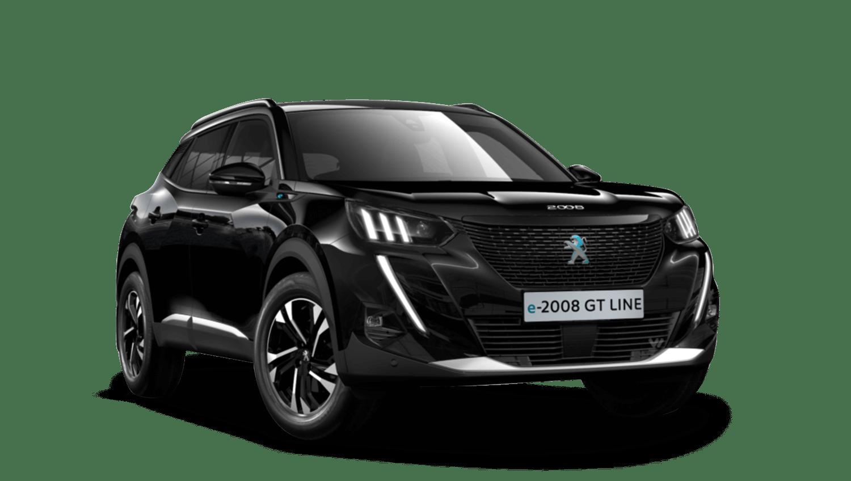 Onyx Black All-new Peugeot e-2008 SUV