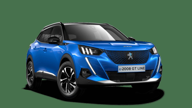 Vertigo Blue All-new Peugeot e-2008 SUV
