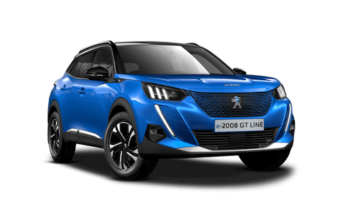All-new Peugeot e-2008 SUV