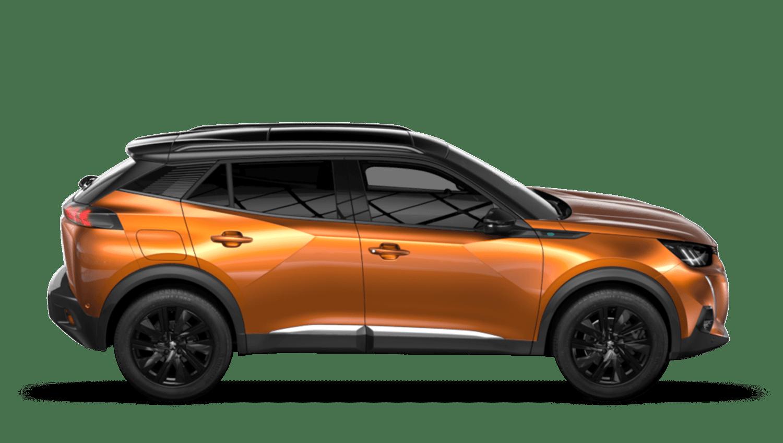 Orange Fusion All-new Peugeot e-2008