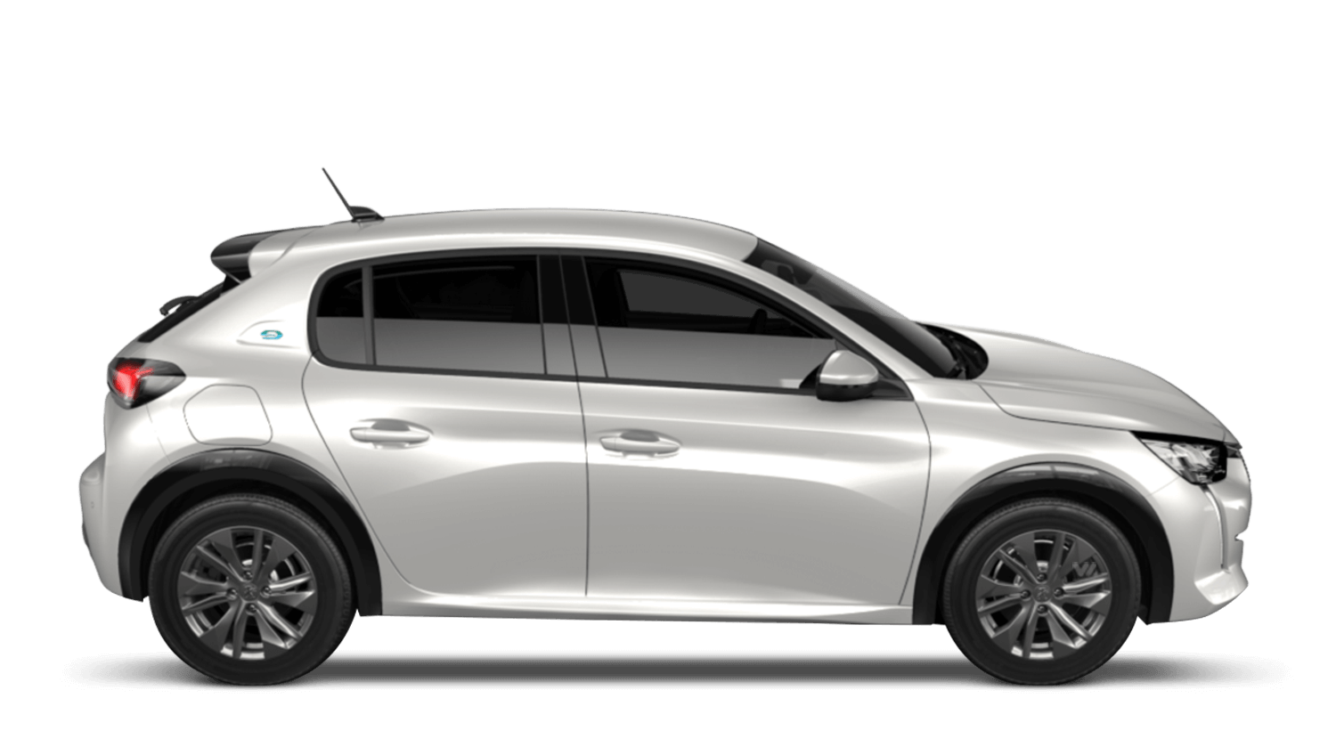 Pearlescent White All-new Peugeot e-208