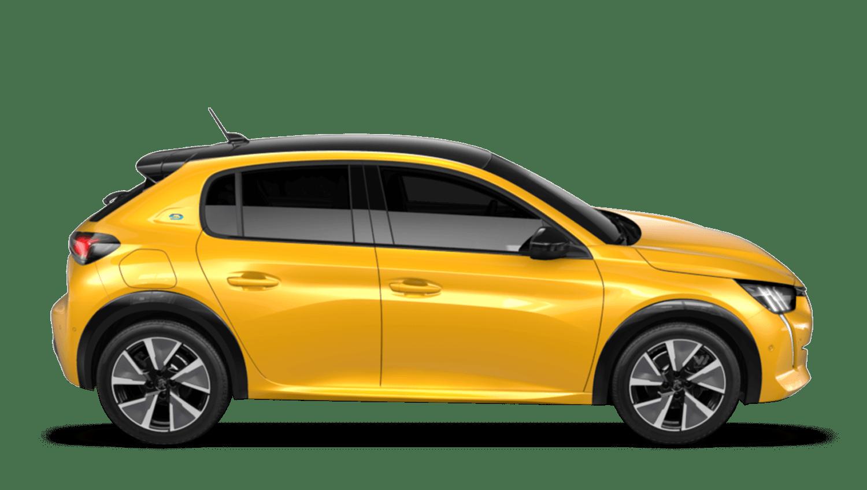 Faro Yellow Peugeot E 208