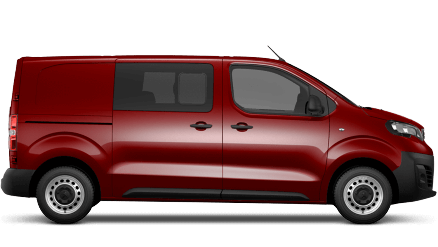 Ardent Red Peugeot Expert