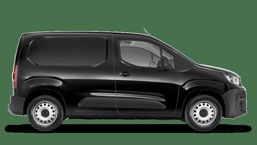 Black Peugeot Partner