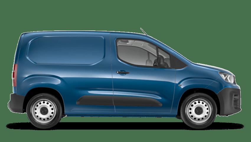 Deep Blue Peugeot Partner