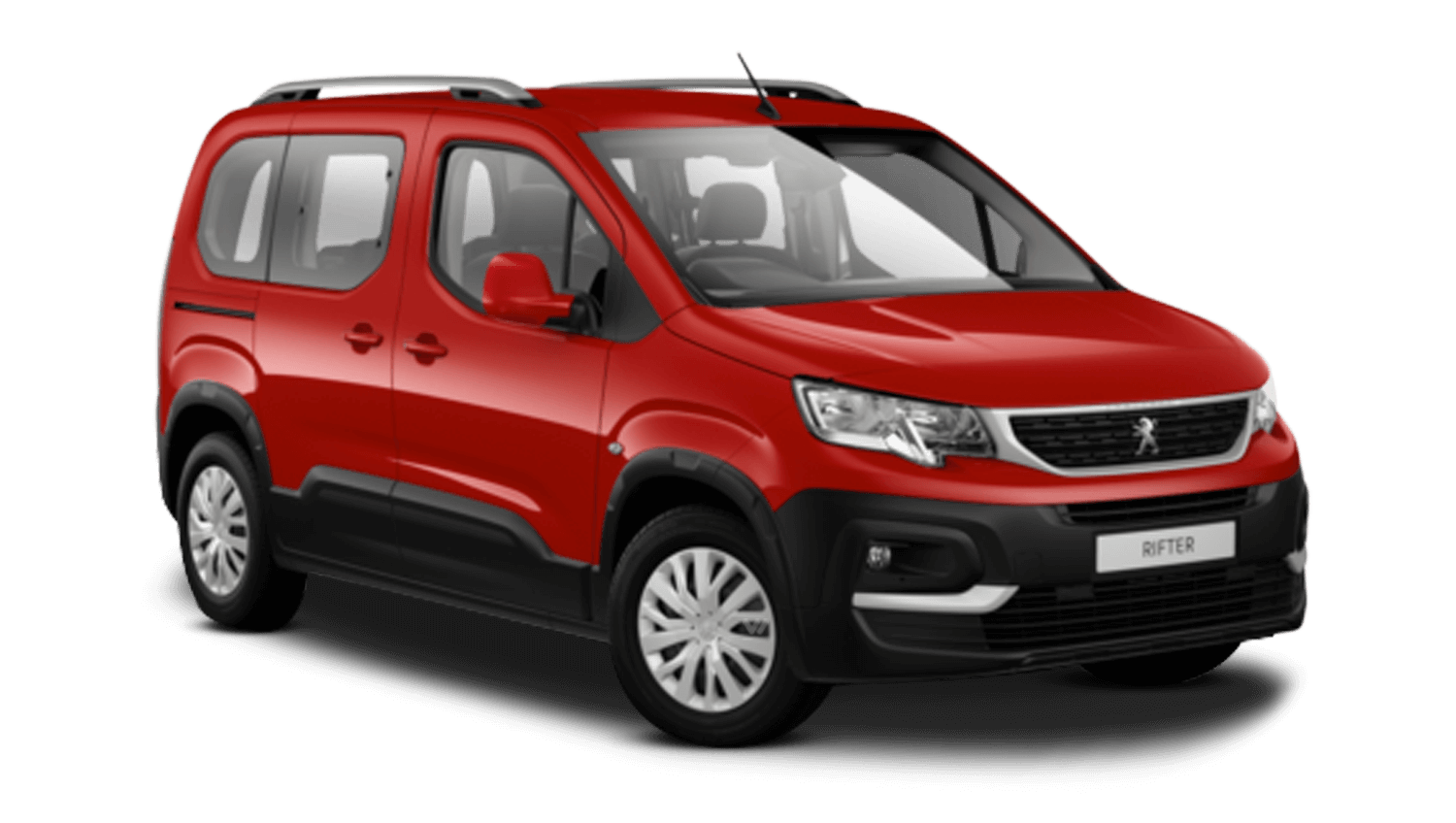 Ardent Red Peugeot Rifter