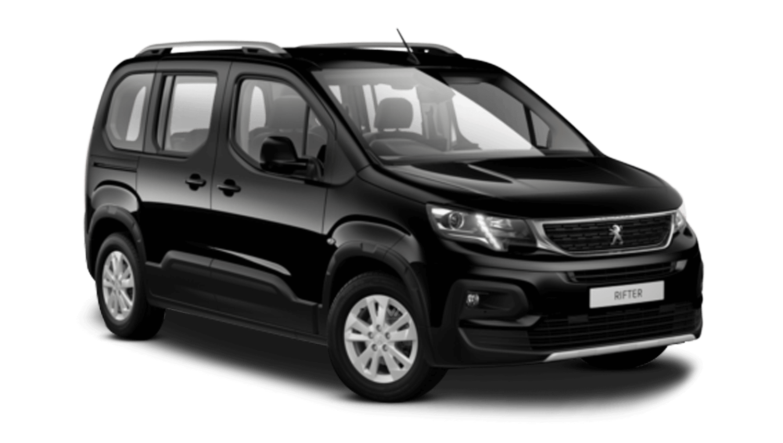Onyx Black Peugeot Rifter