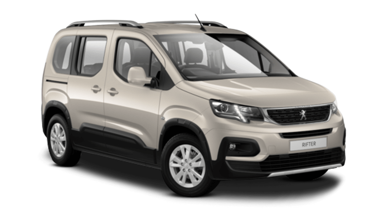 Pearl Sand Peugeot Rifter