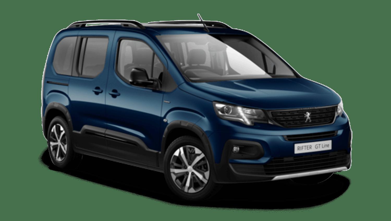 Deep Blue Peugeot Rifter