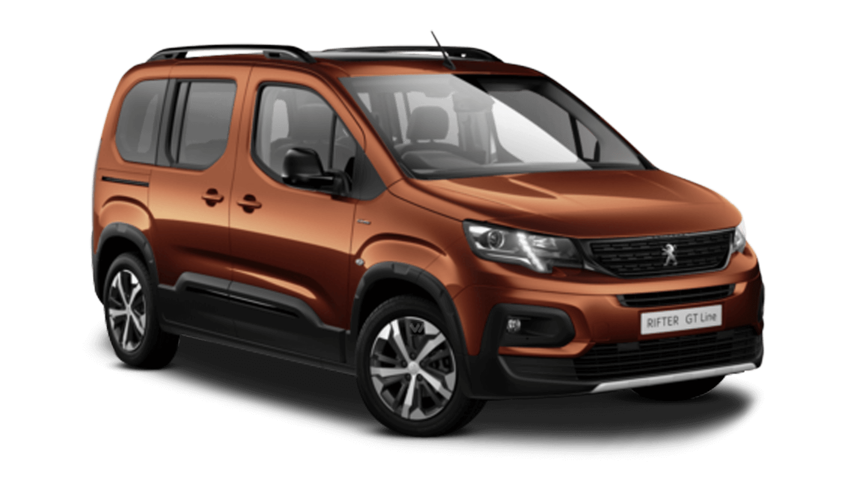 Sunset Copper Peugeot Rifter
