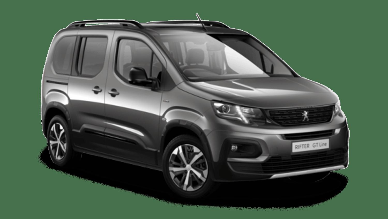 Nimbus Grey Peugeot Rifter