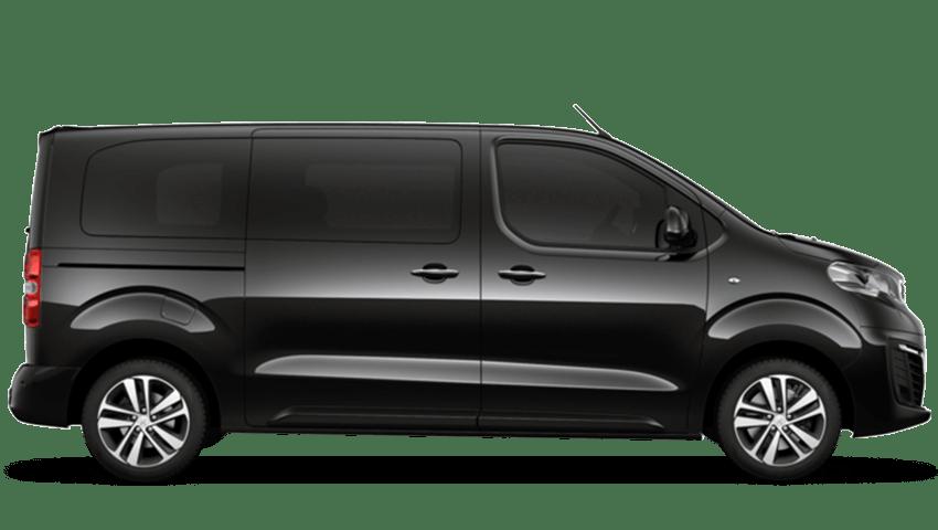 Black Peugeot Traveller